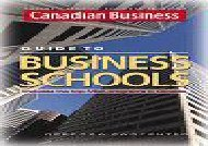 [+]The best book of the month Canadian Business: What is an MBA? - The Complete Guide to MBA and Executive MBA Programs in Canada  [FREE]