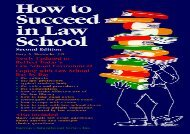 [+]The best book of the month How to Succeed in Law School [PDF]