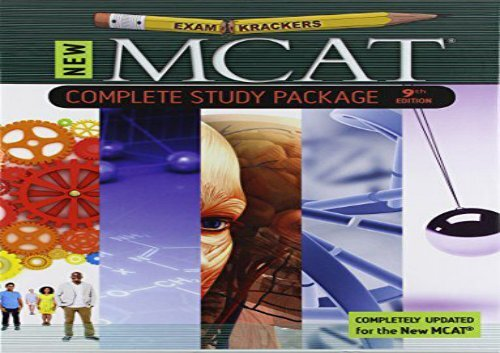 [+]The best book of the month 9th Edition Examkrackers MCAT Complete Study Package  [NEWS]