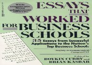[+]The best book of the month Essays That Worked Business Schools  [FULL]