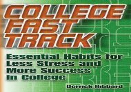 [+]The best book of the month College Fast Track: Essential Habits for Less Stress and More Success in College  [NEWS]