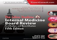 [+]The best book of the month The Johns Hopkins Internal Medicine Board Review: Certification and Recertification, 5e  [FULL]