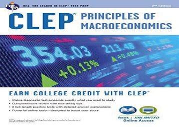 [+][PDF] TOP TREND CLEP(R) Principles of Macroeconomics Book + Online [PDF]