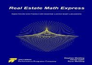 [+][PDF] TOP TREND Real Estate Math Express: Rapid Review and Practice with Essential License Exam Calculations  [NEWS]