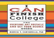 [+]The best book of the month I CAN Finish College: The How to Overcome Any Obstacle and Get Your Degree Guide [PDF]