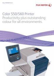 Xerox® Color 550/560 Printer Customer Expectations     - iPitchPro