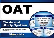[+][PDF] TOP TREND Oat Flashcard Study System: Oat Exam Practice Questions and Review for the Optometry Admission Test  [NEWS]