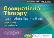 [+]The best book of the month Occupational Therapy Examination Review Guide, 4th Edition  [FULL]