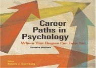 [+]The best book of the month Career Paths in Psychology: Where Your Degree Can Take You  [NEWS]