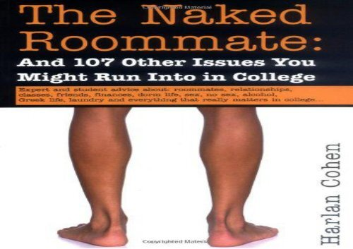 Obvious, the naked roommate book necessary