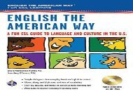 [+]The best book of the month English the American Way: A Fun Esl Guide to Language   Culture in the U.S. (English as a Second Language)  [DOWNLOAD]