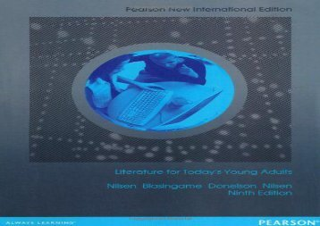[+]The best book of the month Literature for Today s Young Adults: Pearson New International Edition  [DOWNLOAD]