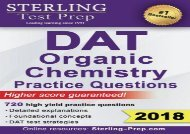 [+]The best book of the month Sterling Test Prep DAT Organic Chemistry Practice Questions: High Yield DAT Questions  [READ]