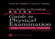 [+]The best book of the month Case Studies to Accompany Bates  Guide to Physical Examination and History Taking [PDF]