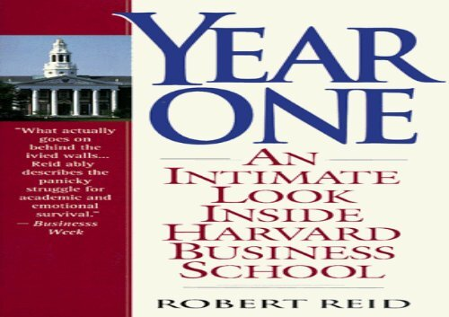 [+]The best book of the month Year One: An Intimate Look Inside Harvard Business School  [READ]