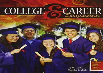[+]The best book of the month College and Career Success  [READ]