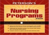 [+][PDF] TOP TREND Peterson s Nursing Programs  [NEWS]