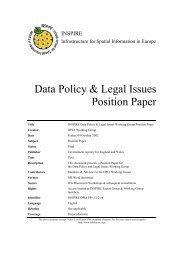 INSPIRE DP&LI WG Position Paper Draft 12 - CP IDEA