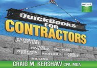 [+]The best book of the month QuickBooks for Contractors (QuickBooks How to Guides for Professionals)  [FREE]