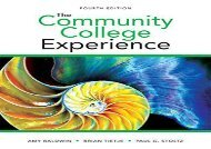 [+]The best book of the month The Community College Experience  [FREE]