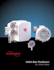 Valtek Beta Positioners - Flowserve Corporation