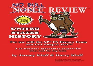 [+]The best book of the month No Bull Review - For Use with the AP US History Exam and SAT Subject Test  [FREE]