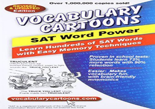 PDF] TOP TREND Vocabulary Cartoons, SAT Word Power: Learn