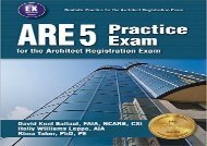 [+][PDF] TOP TREND ARE 5 Practice Exam for the Architect Registration Exam  [FREE]