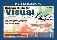 [+][PDF] TOP TREND Peterson s College Guide for Visual Arts Majors  [FULL]