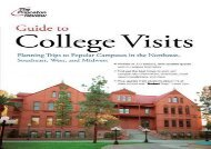 [+][PDF] TOP TREND Guide to College Visits: Planning Trips to Popular Campuses in the Northeast, Southeast, West, and Midwest (Princeton Review: Guide to College Visits)  [DOWNLOAD]