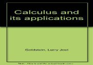 [+]The best book of the month Calculus and its applications  [NEWS]