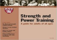 [+][PDF] TOP TREND Harvard Medical School Strength and Power Training: A Guide for Adults of All Ages [PDF]