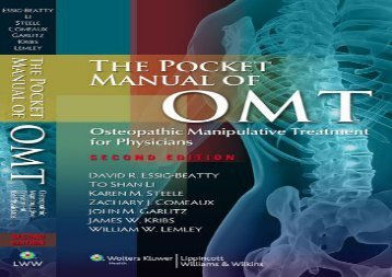 [+]The best book of the month The Pocket Manual of OMT: Osteopathic Manipulative Treatment for Physicians  [DOWNLOAD]