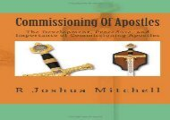 [+]The best book of the month Commissioning Of Apostles: The Development, Procedure, and Importance of Commissioning Apostles  [DOWNLOAD]
