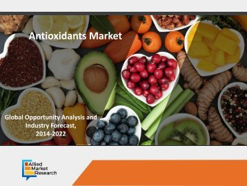 Antioxidants Market