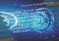 [+]The best book of the month Create your own ICO in Ethereum Blockchain: How to create, verify and market your Altcoin  [READ]