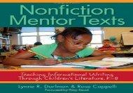 [+][PDF] TOP TREND Nonfiction Mentor Texts: Teaching Informational Writing Through Children s Literature, K-8  [DOWNLOAD]