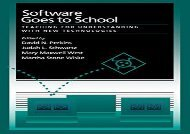 [+]The best book of the month Software Goes to School: Teaching For Understanding With New Technology: Teaching for Understanding with New Technologies  [FULL]