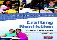 [+]The best book of the month Crafting Nonfiction: Intermediate: Lessons on Writing Process, Traits, and Craft  [DOWNLOAD]
