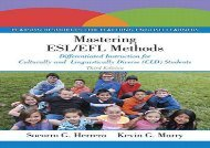 [+]The best book of the month Mastering ESL/EFL Methods: Differentiated Instruction for Culturally and Linguistically Diverse (CLD) Students  [FULL]