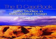 [+]The best book of the month The I.D. CaseBook: Case Studies in Instructional Design  [READ]