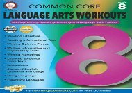 [+]The best book of the month Common Core Language Arts Workouts, Grade 8: Reading, Writing, Speaking, Listening, and Language Skills Practice  [NEWS]