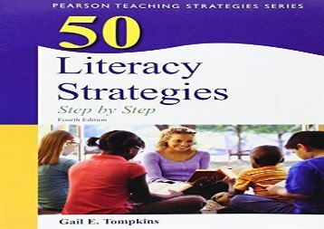 [+]The best book of the month 50 Literacy Strategies: Step-by-Step (Teaching Strategies)  [READ]