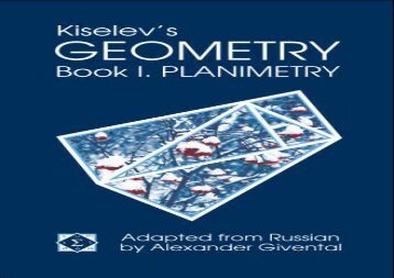 [+]The best book of the month Kiselev s Geometry, Book I. Planimetry  [READ]