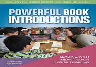 [+][PDF] TOP TREND Powerful Book Introductions: Leading with Meaning for Deeper Thinking [PDF]