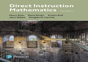 [+]The best book of the month Direct Instruction Mathematics  [NEWS]