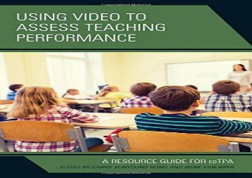 [+][PDF] TOP TREND Using Video to Assess Teaching Performance: A Resource Guide for edTPA  [READ]