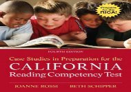 [+][PDF] TOP TREND Case Studies in Preparation for the California Reading Competency Test [PDF]