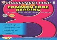 [+][PDF] TOP TREND Assessment Prep for Common Core Reading, Grade 8  [NEWS]