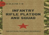 [+]The best book of the month The Infantry Rifle Platoon and Squad (FM 3-21.8 / 7-8)  [NEWS]